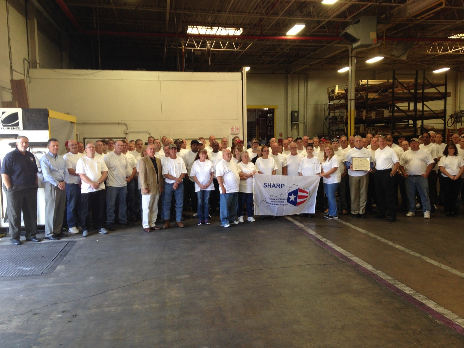Crane Composites Earns SHARP Status For Excellence In Safety