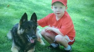 Luck and Pam Brock's grandson, Brayden